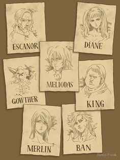 """""""Seven Deadly Wanted"""" Poster by Retro-Freak Seven Deadly Sins Tattoo, Escanor Seven Deadly Sins, Seven Deady Sins, Anime Group, Image Manga, Cute Anime Pics, Animes Wallpapers, Avatar The Last Airbender, Otaku Anime"""
