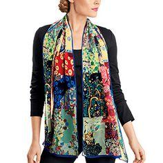 Klimt Patchwork Scarf - Scarves - Apparel - The Met Store
