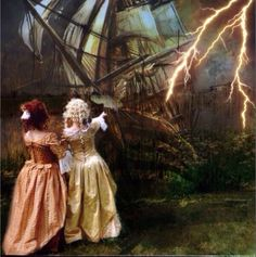Keep a weather eye on that lightning.  Scarlett & Giselle NL