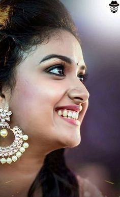 Please visit Keerthy Suresh to read interesting posts. South Actress, South Indian Actress, Most Beautiful Indian Actress, Beautiful Actresses, Exotic Women, Cute Faces, India Beauty, Stylish Girl, Bollywood Actress
