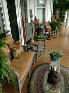 Love this prim porch <3