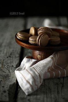 coffee macaron by Vivian An, via Flickr