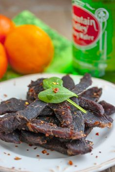 Homemade Beef Jerky - I've currently invested in a dehydrator so I am looking for the ultimate Beef Jerky recipe! A lot of trial and error Simple Beef Jerky Recipe, Homemade Beef Jerky, Jerky Recipes, Beef Recipes, Cooking Recipes, Charcuterie, Chorizo, Appetizer Recipes, Snack Recipes