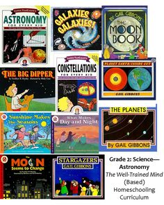 Well-Trained Mind (Based) Homeschooling Curriculum for Grade 2 Science (Astronomy) @momslibrary