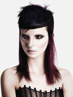 Hair: Darren Bain @HOB Salons Photography: John Rawson Make-up: Lan Nguyen - Grealis Stylist: Ozzy Shah