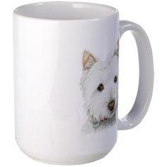 Westie Dog Large Mug