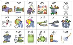 chore chart for young kids who cant read yet