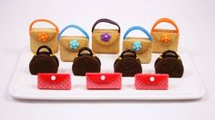 Project Denneler: Cookie Purses for Fashion-plate Palates