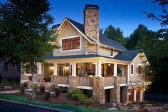 Dream House - North Carolina Craftsman (20 Photos)
