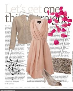 Summer, outdoor wedding guest, created by hojo94 on Polyvore