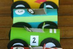 barnpyssel pyssel barn inspiration tips ide toarulle bilar pyssla