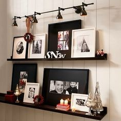 """This is what I want to do in my dining room - with my Grandchildren/children """"shrine."""""""