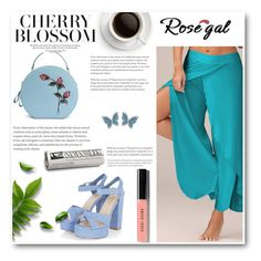 """rosegal contest"" by albinnaflower ❤ liked on Polyvore featuring Swarovski and Bobbi Brown Cosmetics"