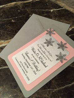 Winter ONEderland Invitations - Winter wonderland - Baby shower/Birthday invitations on Etsy - Southern Rose Designs