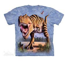Camiseta de T-REX rayado - Todo Dinosaurios - La tienda del dinosaurio http://www.tododinosaurios.com/es/i623/camiseta-de-t-rex-rayado PVP 18€
