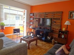 muebles de palet para tv - Buscar con Google