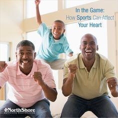 It's important to be aware of your heart, even during the big game. Check out these tips for what to be aware of while watching your favorite sports.
