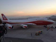 Boeing 747-400 Global SuperTanker   Conheca as aeronaves que combatem os incêndios no Chile - Piloto ...