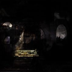 N.18 #art #surrealart #newcontemporary #photography #giorgiobormida #nocturnal #ghost #spirits #shadow #theatre #scenography