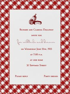 """Picnic Table"" Invitation, Paperless Post"