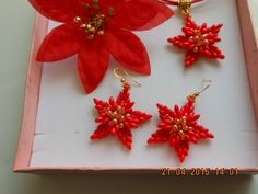 DIY- tutorial-it- Fiore stella di natale - YouTube