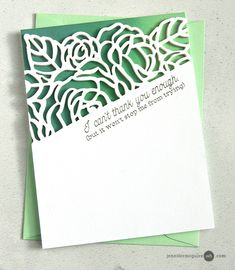 Partial Die Cutting Video by Jennifer McGuire Ink