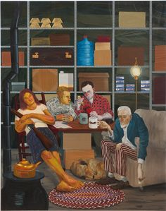 "Nicole Eisenman, ""Tea Party"""