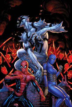 Amazing Spider-Man Vol.1 #664 by Frank Cho