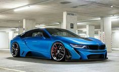 Beemer i8 - Electric Cars Get Cool