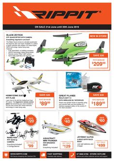 RIPPIT SPECIALS - ENDS JUNE 30th.... Grab the opportunity today and Check out the website for #RC #Hobby #Toys!