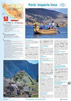 PERÚ Imperio Inca, dto. desde 8%: +90 días, sal. 17/04 al 31/12 (14d/12n) desde 2.625€ - http://zocotours.com/peru-imperio-inca-dto-desde-8-90-dias-sal-1704-al-3112-14d12n-desde-2-625e/