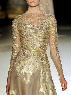 Elie Saab Golden