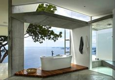 The Most Beautiful Open Air Bathroom Designs