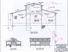 Pole barn plans barn plans and pole barns on pinterest for Monitor garage plans