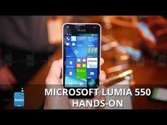 Microsoft Lumia 550 Hands on Testvideo | Handyfant