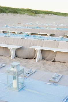 a beach wedding. toes in the sand. xoxo