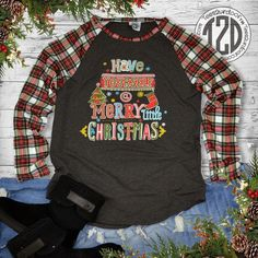 Long-Sleeve Preppy Christmas Lime Green T-Shirt - Preppy Christmas, Christmas Clothes, Christmas Shirts, Christmas Sweaters, Lime Green Shirts, Monogram T Shirts, Cute Comfy Outfits, Quality T Shirts, Denim Outfit