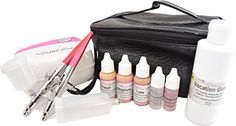 Tickled Pink Airbrush Cosmetic and Tanning Deluxe Kit Deluxe Medium * Read more at the image link. (This is an affiliate link) Makeup Kit Essentials, Airbrush Makeup, Makeup Foundation, Best Makeup Products, Makeup Brushes, Make Up, Cosmetics, Pink, Image Link