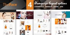 Theface magento theme aims to provide you with all the features of a beauty & cosmetics online store. This theme is easy to install and easy to use.         Theface theme offers user color op...