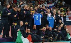 La Nazionale ricorda Vigor Bovolenta.
