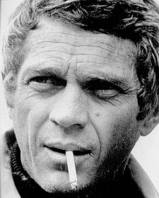 """I live for myself and I answer to nobody."" - Steve McQueen"