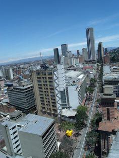Bogotá desde arriba