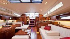 Beneteau Oceanis 60 below decks