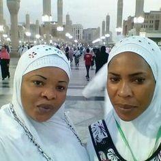 Photos: Checkout Faithia Balogun & Dayo Amusa In Mecca For Hajj