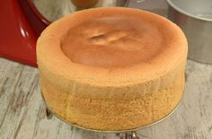 high sponge cake cm) with Thermomix, an inescapable recipe of a high sponge, soft, light and spongy, easy and simple to make to make cakes with several layers. Cake Ingredients, Cafe Moka, Dessert Thermomix, Angel Biscuits, How To Make Biscuits, Homemade Taco Seasoning, Cooking Chef, Birthday Cakes, Sweets