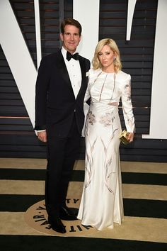 Prince Pavlos of Greece and Princess Marie-Chantal of Greece attend 2015 Vanity Fair Oscar Party on February 22, 2015 in Beverly Hills, California