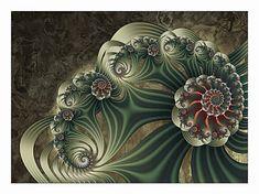 El maravilloso mundo de la geometría fractal 2D y 3D