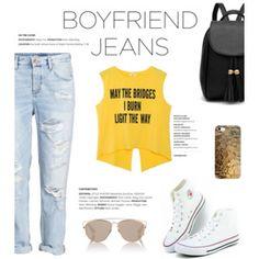 Borrowed From The Boys: Boyfriend Jeans