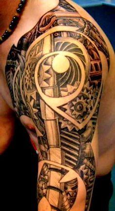 1000 images about mechanical shoulder tattoo on pinterest muscle anatomy shoulder tattoo and. Black Bedroom Furniture Sets. Home Design Ideas