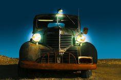 1940 Dodge Truck Twilight Photograph